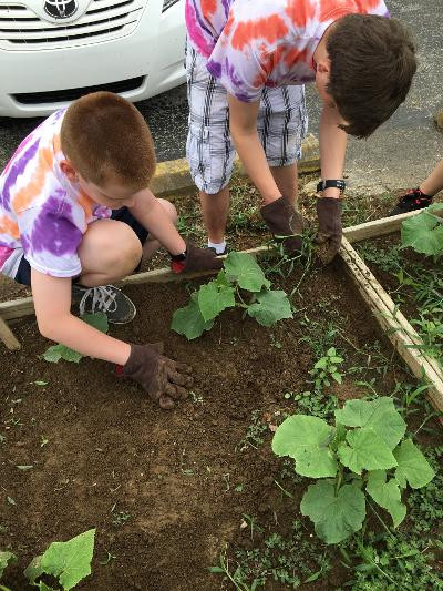 JNS Service Project – Photo by Tracy Spencer