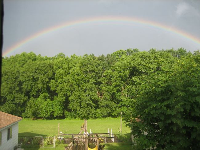 Photo of a Rainbow by Matthew & Sarah Hammack