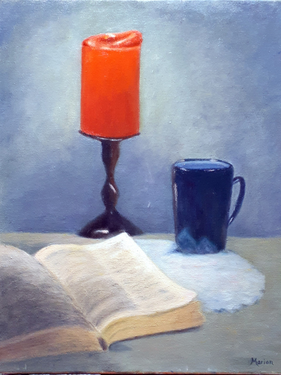 """Dad's Bible"" - Painting my Marian Ludlow"
